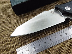 Image 4 - KESIWO מתקפל סכין חיצוני הישרדות כיס קמפינג ציד סנפיר שירות D2 להב G10 ידית טקטי EDC רב מטבח כלי