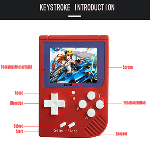 Image 2 - TV Output Video Game Console Built in 129 Classic No Repeat Games Retro Mini Pocket Handheld Game Player Best Kids Gift