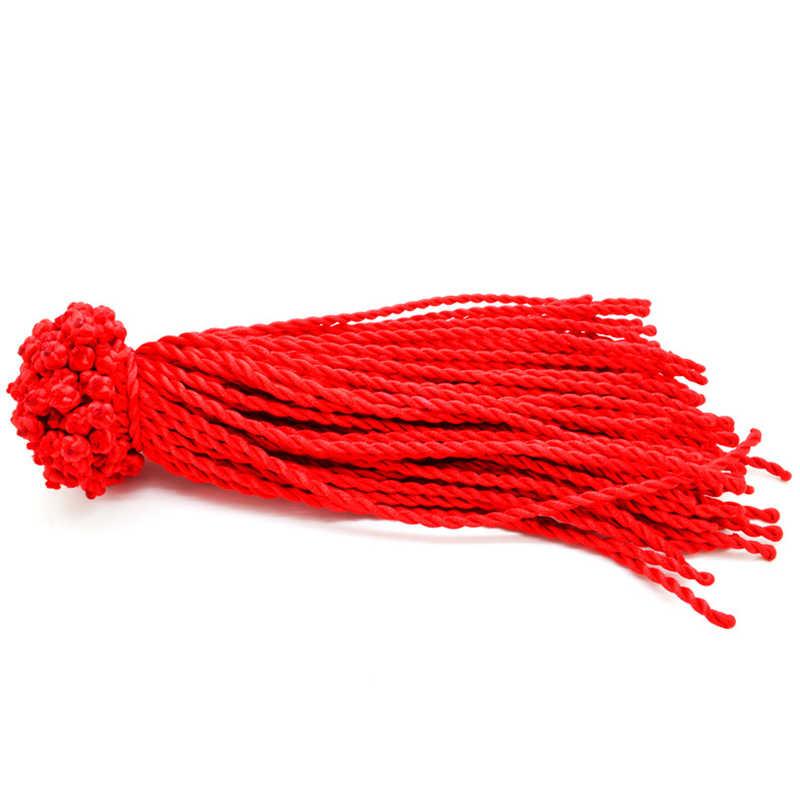 מכירה לוהטת 2018 1 PC אופנה אדום חוט מחרוזת צמיד מזל אדום ירוק בעבודת יד חבל צמיד לנשים גברים תכשיטי מאהב זוג