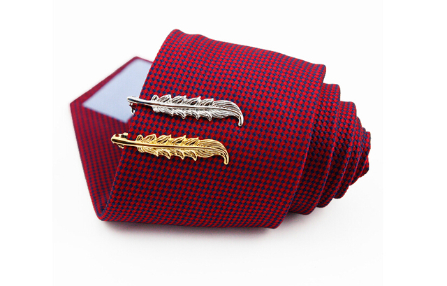 Chrome Stainless Steel Tie Clip