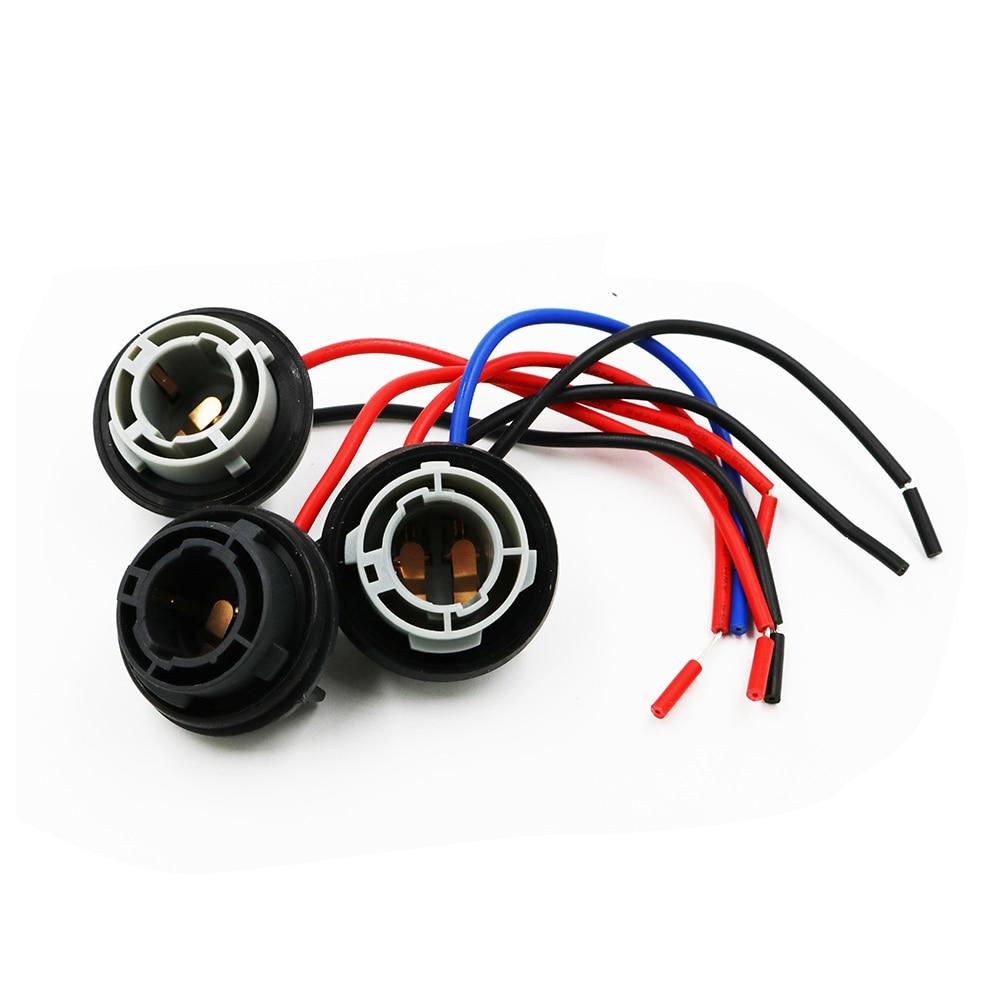 Car Lights Strong-Willed 2pcs Ba15s Car Light Base Auto Led Light Bulb Socket Connector Pre-wiring Plug Ba15s P21w Bulb Adapter Holder
