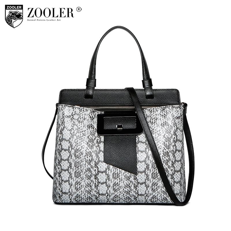 NEW&HOT Zooler Brand 2018 genuine leather bags luxury handbags women bags designer womens leather bag handbags bolsas tote# U501 2018 new zooler brand 100