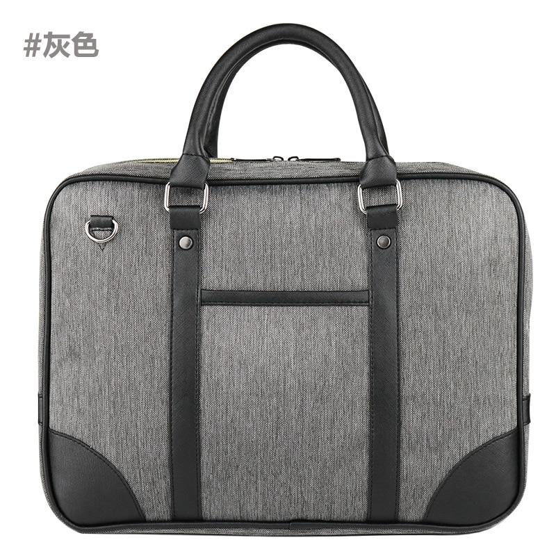 women bag New Oxford material Men Bag Business Briefcase Laptop Messenger Bags Mens Leather Casual Zipper Handbag 50
