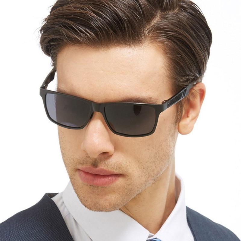Aluminium magnesium mäns solglasögon polariserad beläggningsspegel - Kläder tillbehör - Foto 5