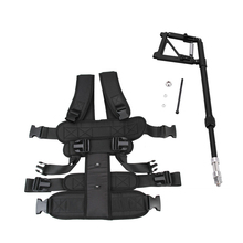 2016 New Video Studio Steadicam Stabilizer Support Rod Body Load Vest Single Handle Arm for Steadycam DSLR Camera DV Camcorder