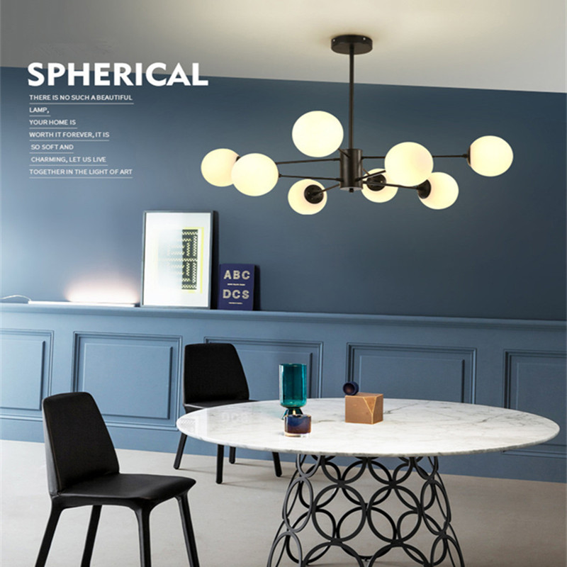 Modern Designer Romantic Dining Room Pendant Light Creative Magic Beans Living Room Bedroom Lights Bar Led Lights Free Shipping