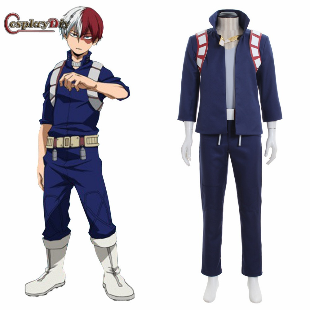 Boku no Hero Akademia Cosplay My Hero Academia Costume Shoto Todoroki School Uniform Halloween Cosplay Clothes Custom Made
