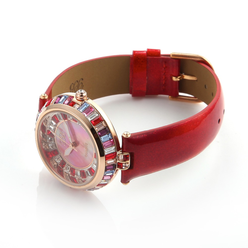 9a785bc37 Designer Watch UK Girls Diamond Chinese Watches Famous Rhinestone Ladies  Brand Wristwatch Bling Dress Orange HL538SPT PB-in Women's Watches from  Watches on ...