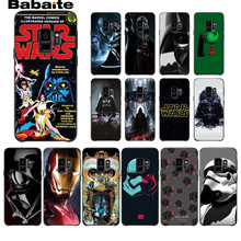 Star Wars DIY Printing Drawing Phone Case cover Shell For Samsung Galaxy s9 s8 plus note 8 note9 s7 s6edge Mobile Cases Babaite