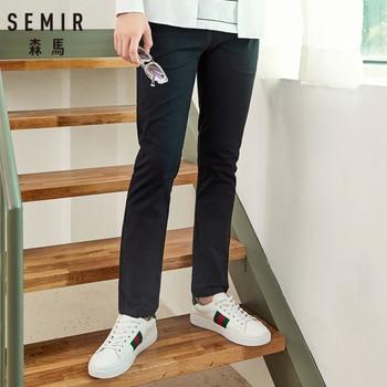 SEMIR Men Cotton Chinos Men's Slim Fit Chino Pants