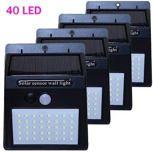 40 LEDs Solar Light PIR Motion