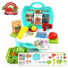 Specials Children Simulation cash register Luxury Pretend Play Toys Supermarket checkout