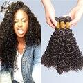 7а дешево бразильский вьющиеся волосы девственные расслоение глубоко вьющиеся человеческие волосы соткать смешанная длина бразильский девственные волосы глубоко вьющиеся бесплатная доставка