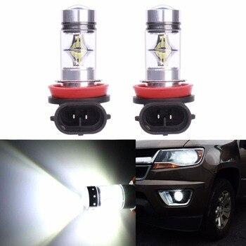 Bombillas LED blancas para Coche, Faro antiniebla para conducción, DRL, 100W, H7,...