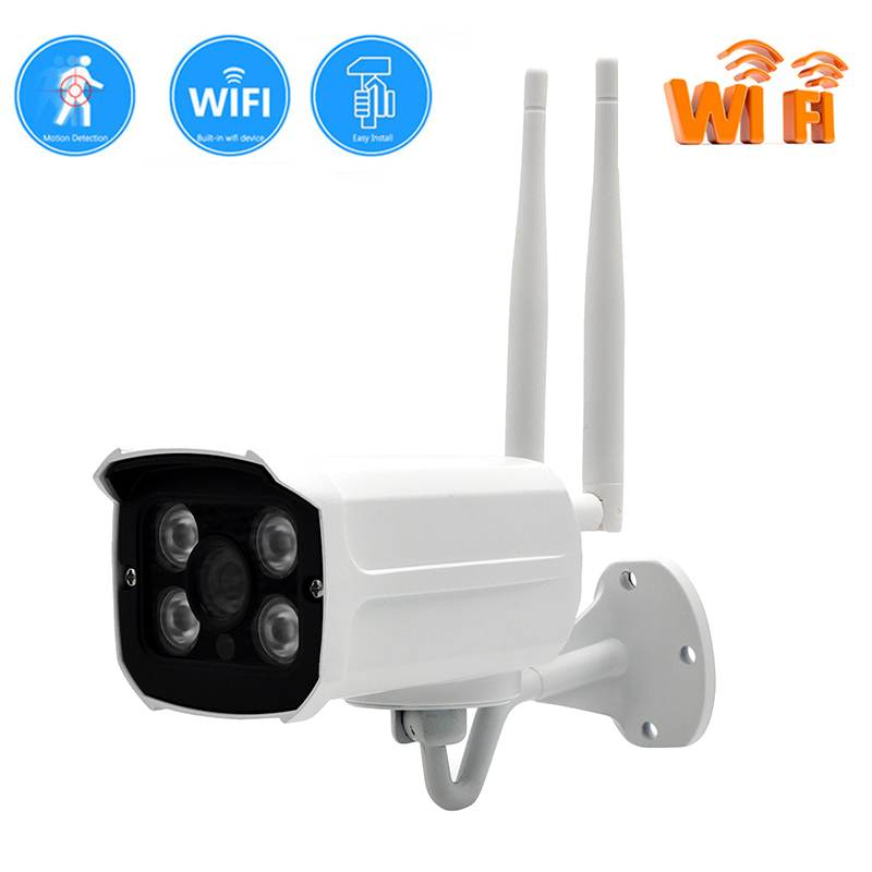Wifi IP Camera CCTV 720P 960P Bullet Camera Outdoor Street Waterproof Wireless Network Surverillance Onvif Security With TF Slot wistino cctv bullet ip camera xmeye waterproof outdoor 720p 960p 1080p home surverillance security video monitor night vision