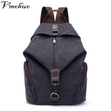 VMOHUO Vintage Canvas Women Backpacks Fashion Travel Backpack for Teenager Girls Student School Bag Casual Rucksack Female 2018(China)