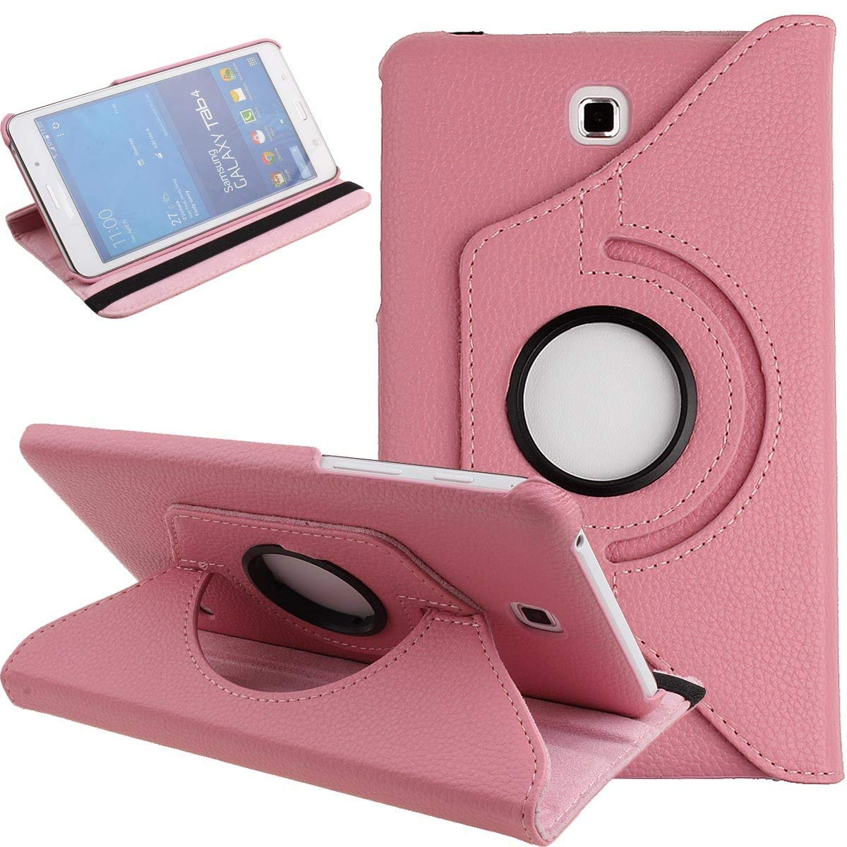 360 Degrees Rotating PU Leather Smart Case Cover for Samsung Galaxy Tab 4 7.0 Inch(SM-T230 SM-T231 T235 ) Tablet Protective Case360 Degrees Rotating PU Leather Smart Case Cover for Samsung Galaxy Tab 4 7.0 Inch(SM-T230 SM-T231 T235 ) Tablet Protective Case