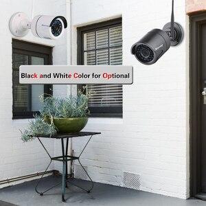 Image 4 - Techage 4CH 1080P Wireless NVR CCTV System Audio Record 2MP Waterproof Outdoor WIFI CCTV Camera System Video Surveillance Kit