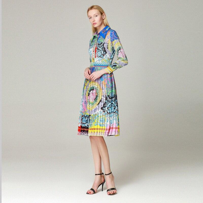 Marca Ah03738 Del Partito Lusso Design Europeo Vestito Alta Di Nuove Qualità Primavera Da Donne Modo Stile 2019 vfvqU