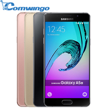 Original Samsung Galaxy A5 2016 A5100 Unlocked Cell Phones 5.2 Inch Quad Core 13 MP Camera 16GB Dual Sim Smart Phone