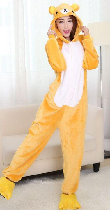 Popular One Piece Flannel Pajamas-Buy Cheap One Piece Flannel ...