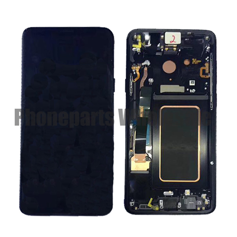 For Samsung Galaxy S9 Plus G9650 LCD Display With Touch Screen Digitizer Assembly With Frame Free ShippingFor Samsung Galaxy S9 Plus G9650 LCD Display With Touch Screen Digitizer Assembly With Frame Free Shipping
