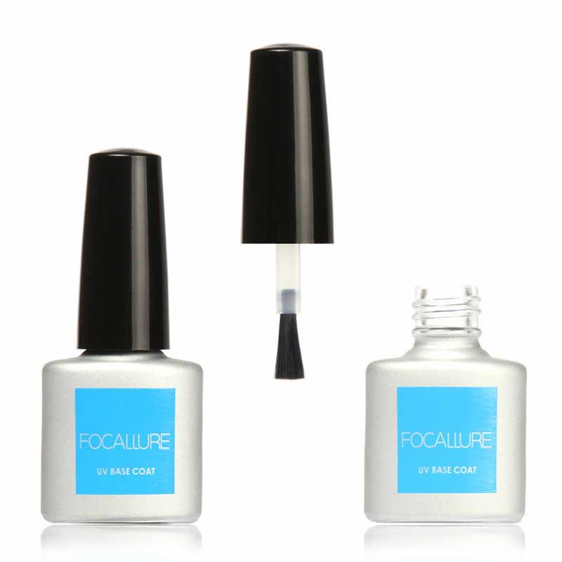 FOCALLURE 2 יח'\חבילה UV למעלה מעיל + UV מעיל בסיס ג 'ל פולני פריימר נייל לכה UV לטווח ארוך ג 'ל לק