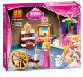2016 Nueva BELA Amigos Bella Durmiente Ladrillos de Construcción Bloques Establece juguetes Educativos Compatible Legoe princesa Juguetes Para Niñas