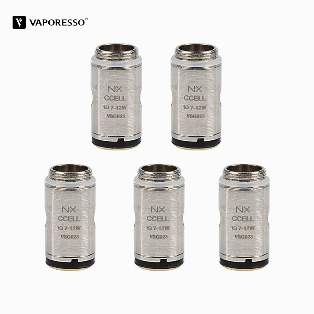 цена 5Pcs Original Nexus CCELL Nexus Cotton Coil Head Electronic Cigarette Atomizer Core for Vaporesso Nexus Starter Vape kit