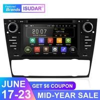 Isudar 1 Din Автомобильный мультимедийный плеер gps Android 9 для BMW/320/328/3 серии E90/E91/E92/E93 dvd плеер радио FM четырехъядерный 2 + 16 Гб