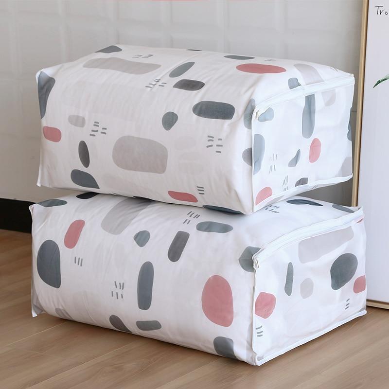 Vanzlife المطبوعة لحاف حقيبة الغبار و - التنظيم والتخزين في المنزل