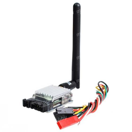 Boscam TS321 500mW Transmitter 2.4G 8CH Wireless AV FPV & RC302 Free Shipping With Tracking цена
