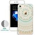 Case para iphone 7/7 plus, esr totem patrón de una sola pieza de henna case hybrid case tpu suave trasera dura protectora para iphone 7 7 plus