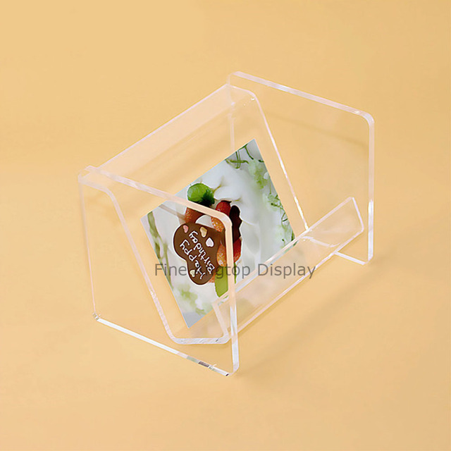 Acrylic Countertop Display Jewelry Storage Rack Gift Card Holder Box