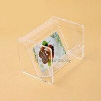 Acrylic Countertop Display Jewelry Storage Rack Gift Card Holder Box