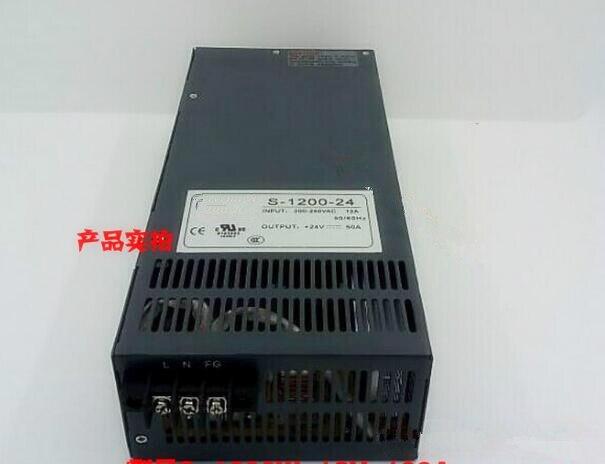 1200 W 24 V 50A haute puissance industrielle alimentation 1200 watt 24 volt 50 amp haute puissance industrielle transformateur
