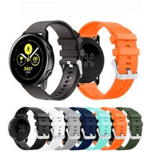 20MM Outdoor Sport Silicone Rubber Watch Band for Samsung Galaxy Active Wrist 42mm Bracelet