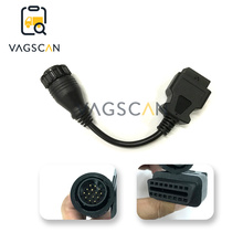 Cabo adaptador de 14 pinos 9993832 para o motor diesel volvo vocom 88890030