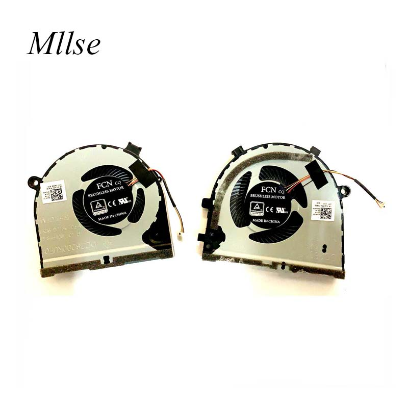 Free Shipping laptop cpu cooling fan for DELL G3 G3-3579 <font><b>G5</b></font> <font><b>5587</b></font> 0TJHF2 0GWMFV G3 15 Ins 15PR-6745B 15PD-7745 15GD -1765L image