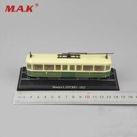 Nouveau Le Plus Chaud 1: 87 Échelle Motrice L (STCRP) 1923 Tram Tramways Train Modèle juguetes de Collection Pour Enfants Jouets Cadeaux C