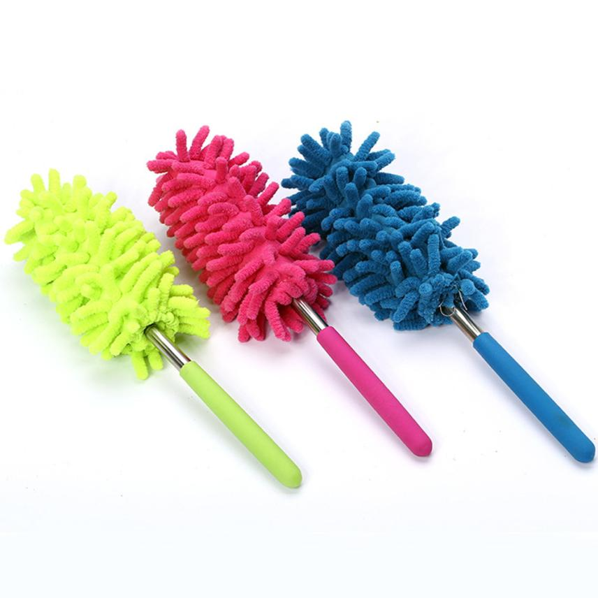 Telescopic Microfibre Duster Extendable Cleaning Home Car Cleaner Dust Handle Drop shipping6.07/35%