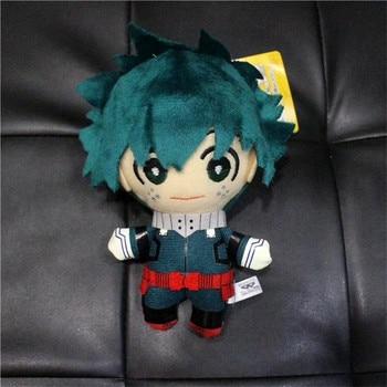 15CM Anime My Hero Academia Izuku Midoriya Katsuki Bakugou Shouto Todoroki Plush pendant toy Soft Stuffed dolls Gift 3