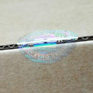 Image 2 - Niestandardowa przezroczysta naklejka z hologramem drukowanie gwarancja nieważna w przypadku usunięcia zabezpieczenia jednorazowa laserowa holograficzna czytelna naklejka