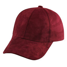 Real Suede Hats 2017 Hot New Autumn Brand Baseball Cap Women Men Snapback Caps Street Hip Hop Caps For Boys Girls Ladies Gorra(China)