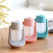 120ml Portable Usb Mini Air Diffuser Humidifier 7 Colorful Night Light Mist Maker Oil Aroma Steam Air Humidifier Home Office