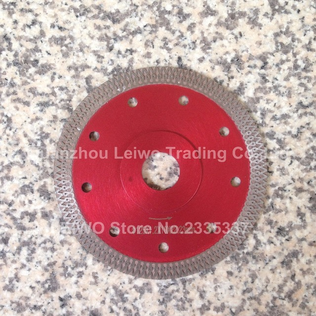 Porcelain Tile Blade 5 Inch 125 Mm Ultra Thin Turbo Saw Diamond Ceramic