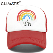 CLIMATE Family Matching Trucker Caps Dad Mom Caps Cool Happy