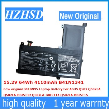 15.2V 64Wh 4110mAh B41N1341 new original B41BN95 Laptop Battery For ASUS Q502 Q502LA Q502LA-BBI5T12 Q502LA-BBI5T14 Q502LA-BBI5