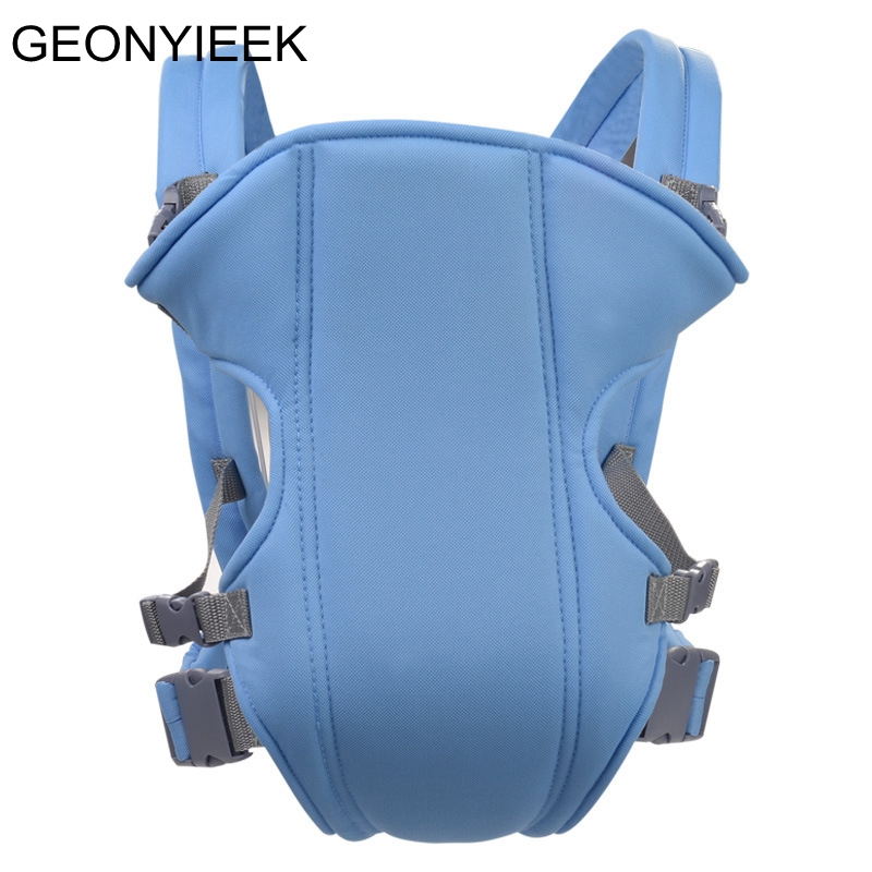 Adjustable Baby Infant Toddler Newborn Safety Carrier 360 Four Position Lap Strap Soft Baby Sling Carriers For 2-30M Baby