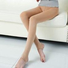 stretch LEGGING A411 Autumn Winter New Imitation Nylon Plus Cashmere Thick Super Soft Leggings High Waist Legging